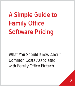 A Simple Guide to Family Office Software Pricing