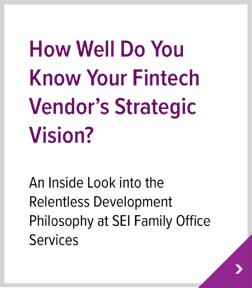 How Well Do You Know Your Fintech Vendor's Strategic Vision