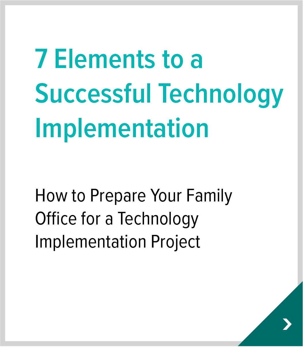 7 Elements to a Successful Technology Implementation
